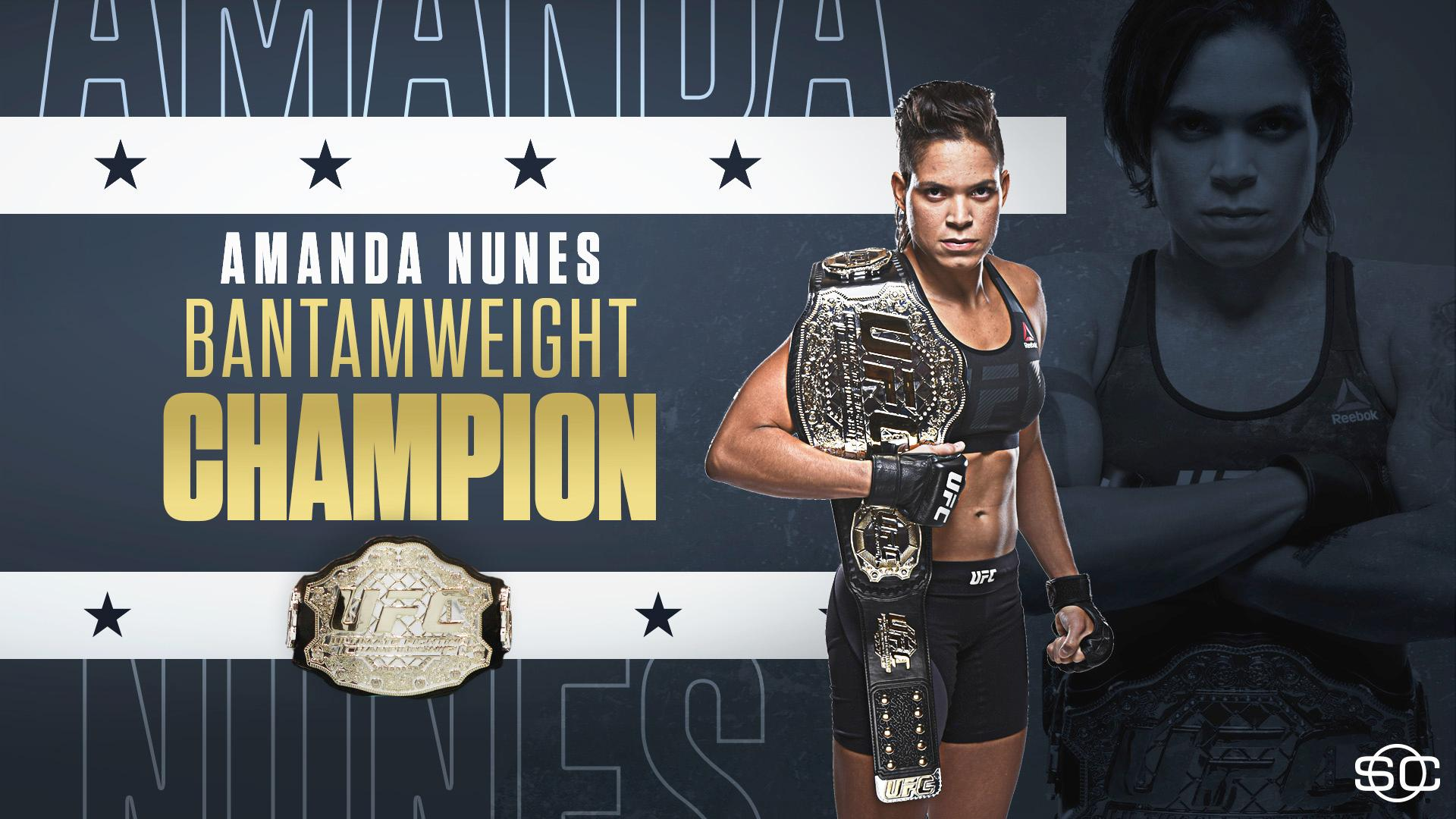 AND STILL!  Amanda Nunes retains her bantamweight title, defeating Valentina Shevchenko by split decision. https://t.co/l3dEQgXAlL