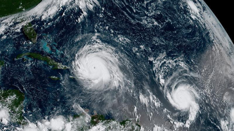 Hurricane Jose moves away from Leeward Islands, fears recede