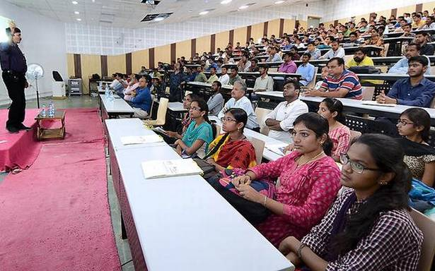 Re-skill yourself to succeed, students told