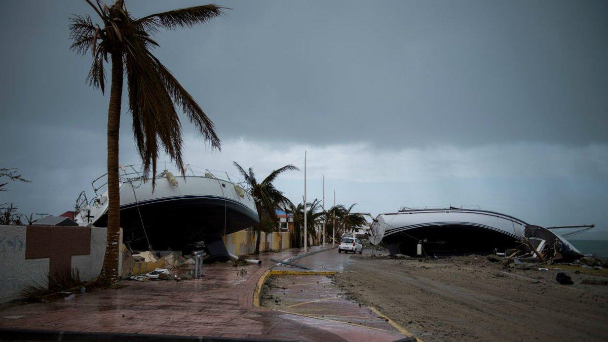 Dévastées par Irma, Saint-Martin et Saint-Barthélemy épargnées par l'ouragan José