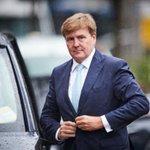 Koning Willem-Alexander onderweg naar Curaçao