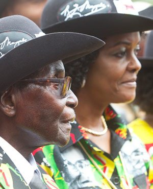 Mugabe had diarrhoea for 2 weeks after being poisoned... he nearly died, claims wife Grace