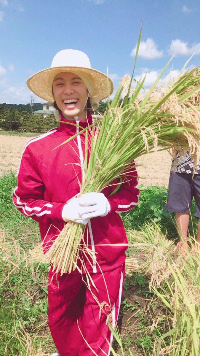 『ラブ米』稲刈りイベント🌾お越し頂いた皆様ありがとうございました‼️いや〜。良い夏の思い出になりました😚‼️炎天下だった
