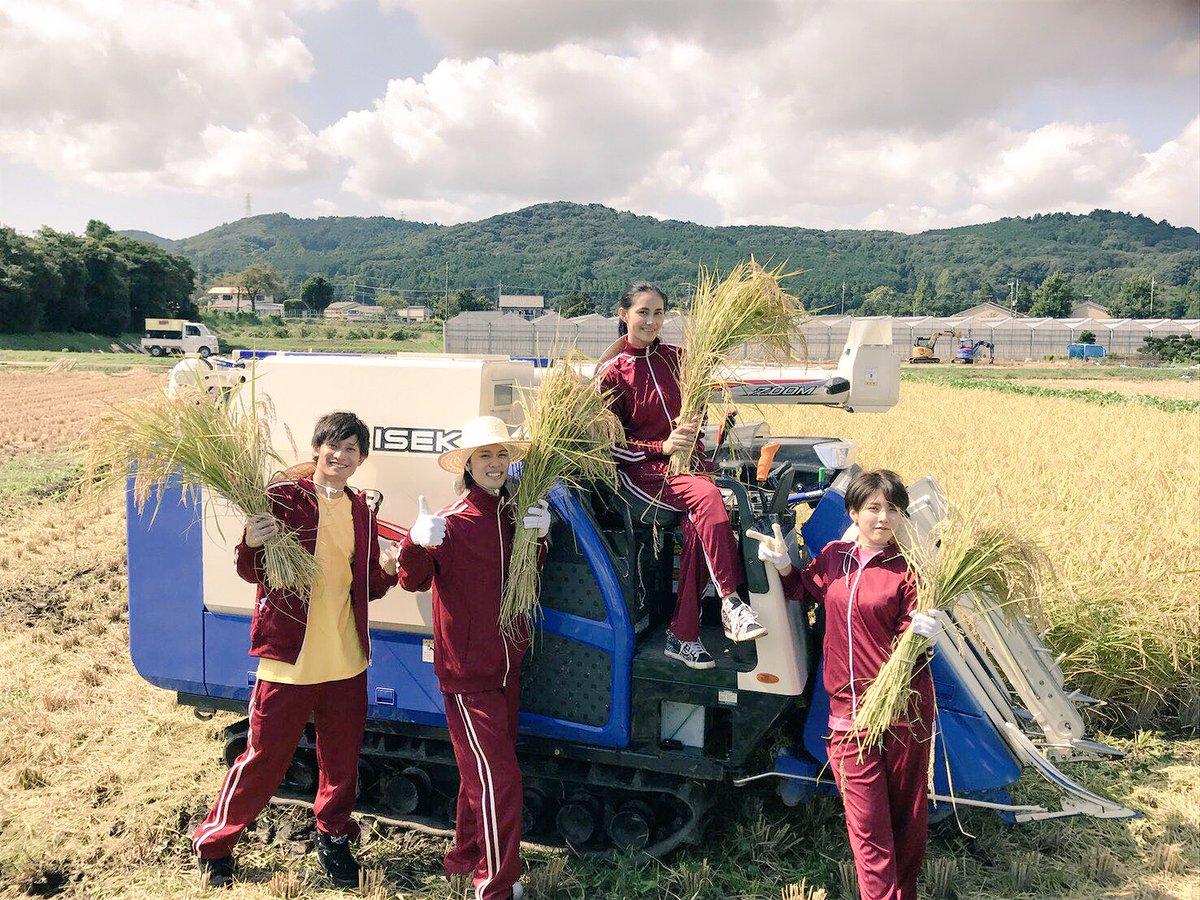 稲刈りイベントありがとうございます🌾朗読に稲刈りにお昼ごはん、ゲームも!!盛りだくさんなイベントでしたね!!ラブ米は10