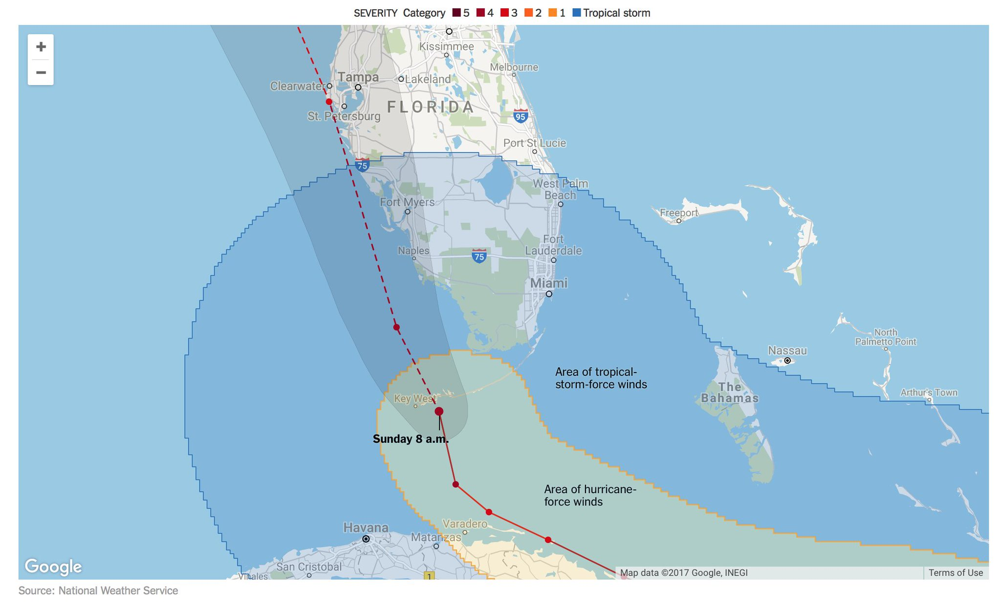 Maps: Track the path of Hurricane Irma https://t.co/IUA5ayisku https://t.co/RpPhSWBcT9