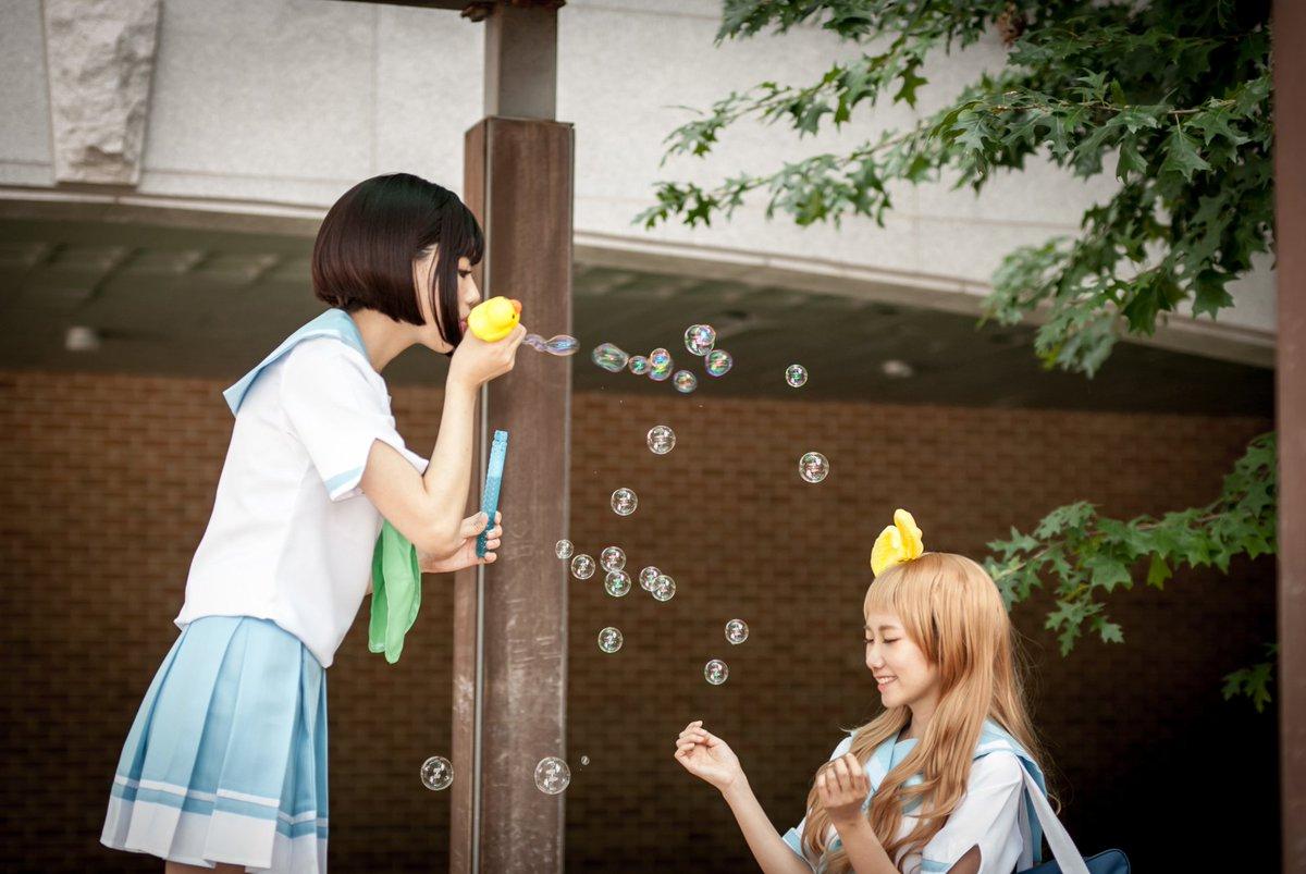 響け!ユーフォニアム ♪울려라! 유포니엄♪나카세코 카오리 - 하와님♪요시카와 유우코 - 나♪이쁜사진 - Ren