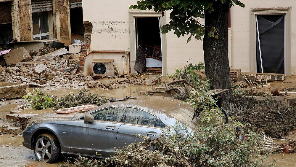 At least 6 dead as torrential rain triggers severe flooding in central Italy