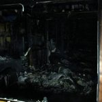 Six taken to hospital after Christchurch house is gutted by flames