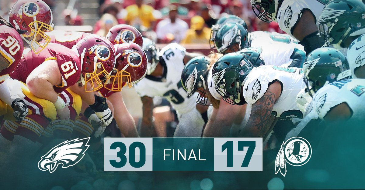Win on the road in Washington? Thumbtack. ��  #FlyEaglesFly https://t.co/HhleZqVkth