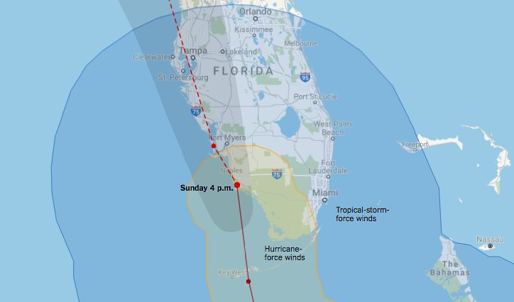 Hurricane Irma made landfall at Marco Island at 3:35 p.m. as a Category 3 storm https://t.co/cdhwvdVt9r https://t.co/X5j2aShqh5