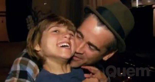 Colin Farrell. Foto do site da Quem Acontece que mostra Colin Farrell se emociona ao lembrar primeiro passos de filho aos 4 anos post