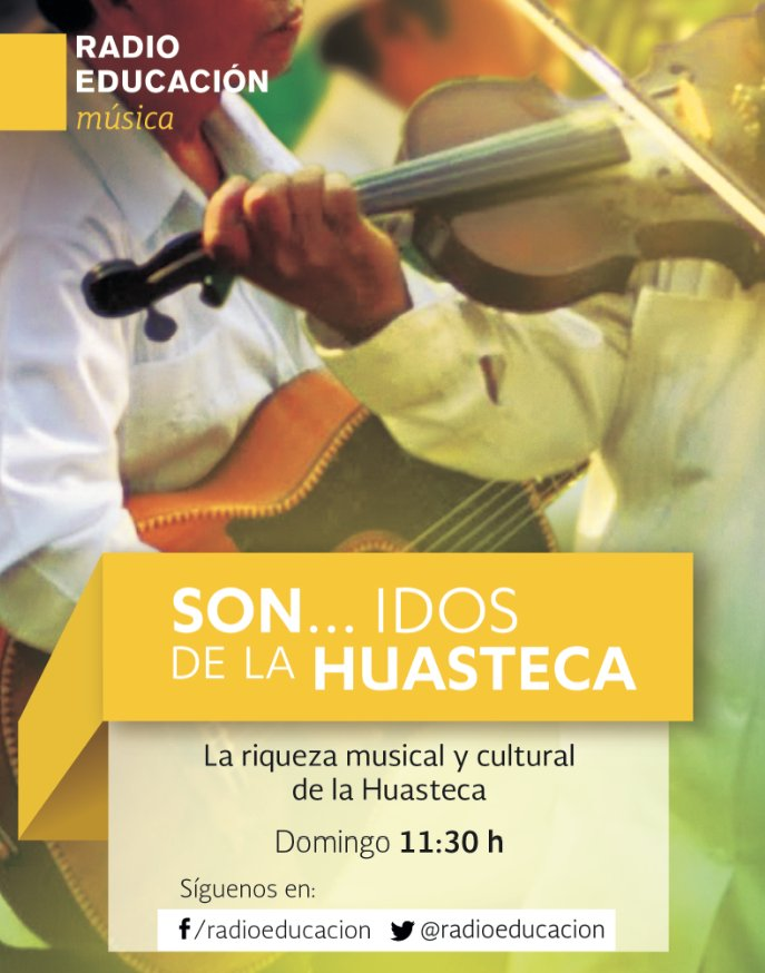 A las 11:30 h escucha 'Sonidos de la Huasteca' por el 1060 de AM https://t.co/A9t7bTL7Uk https://t.co/ZW946Dw37j