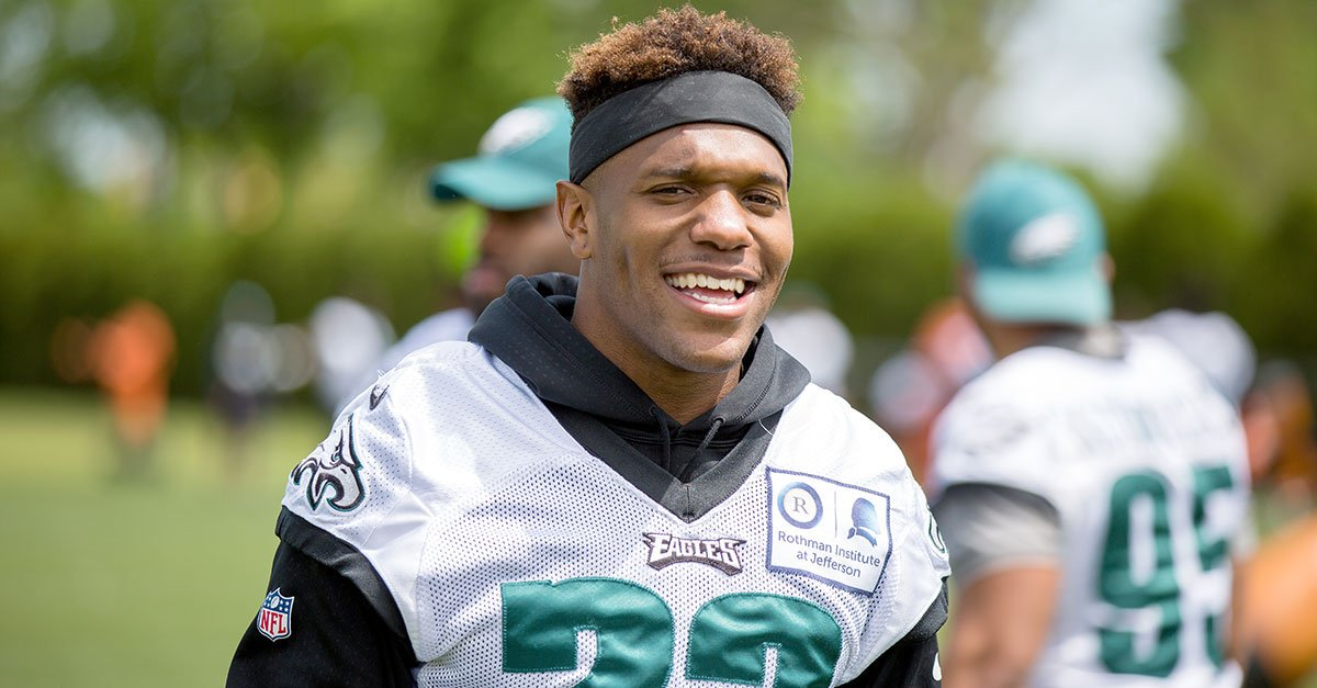#Eagles will rotate a sixth captain for every game. Today's sixth captain is S @Rodney_McLeod4. https://t.co/FmlrZ0lQku