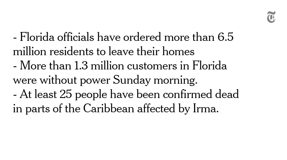 Midday on Sunday, Miami was facing hurricane-force gusts of 70 to 90 miles per hour https://t.co/FiYdDczTnQ https://t.co/H7CG2eKC9X