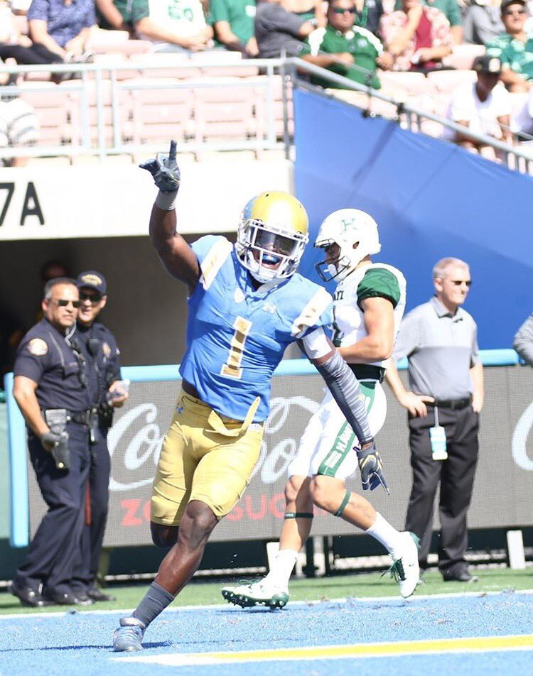 UCLA Football is ranked #25 in this week's AP Top 25 Poll #GoBruins https://t.co/b7hJ4bcC4T