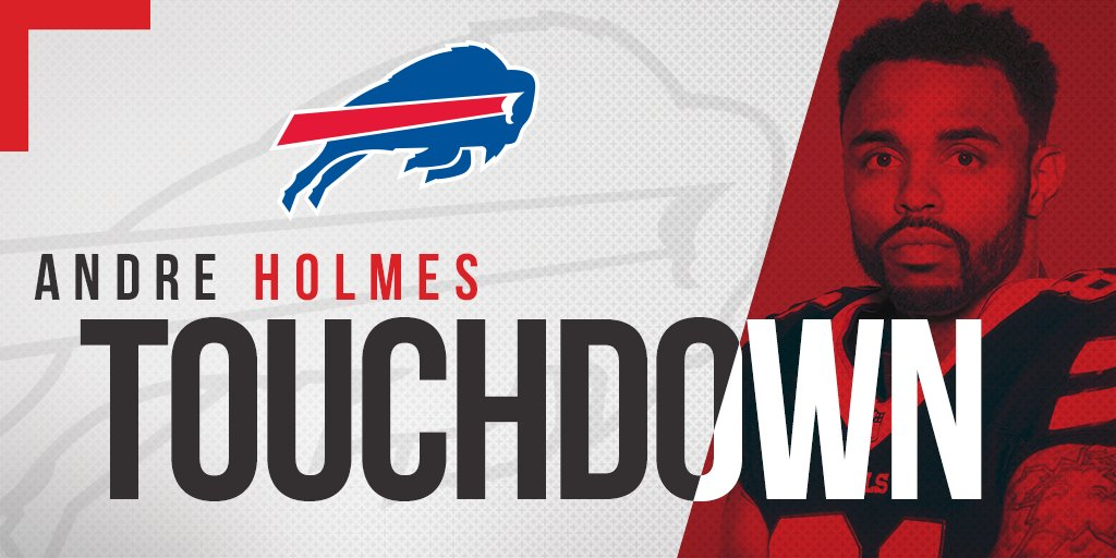 Welcome to the endzone, @dreholmes81! #NYJvsBUF https://t.co/NBmHeJ4c7t