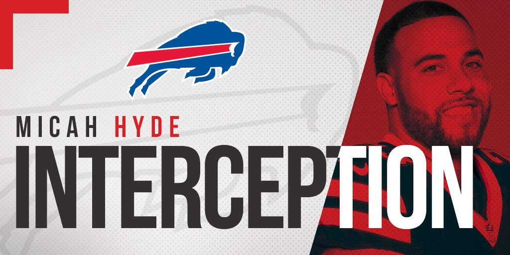 Micah Hyde delivers the final blow!  #NYJvsBUF #GoBills https://t.co/qO2Eh246q3
