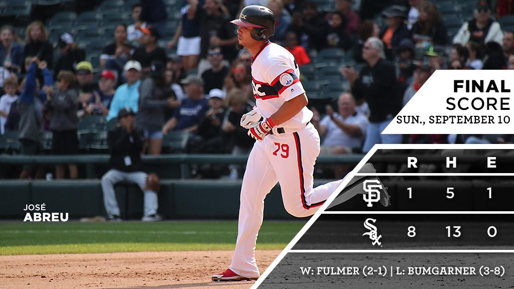 José blasts two homers, leads way to #Sox series win over #Giants.  RECAP: https://t.co/M4H7v4qfkC https://t.co/FscqqsYLI6