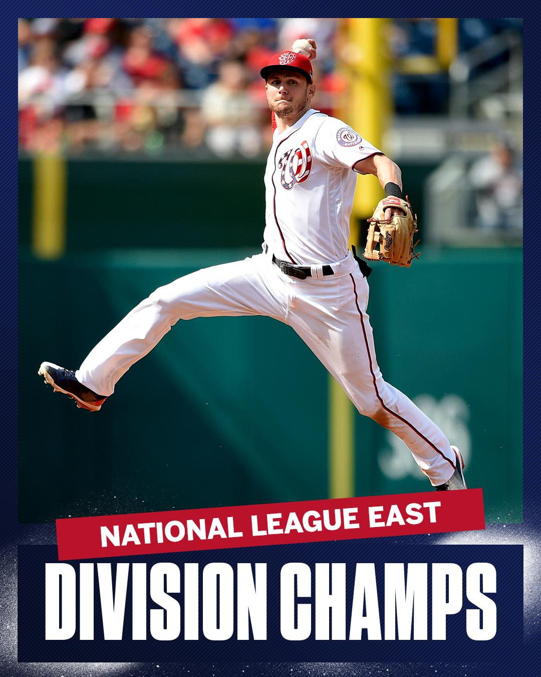 The Nationals are the first team in MLB to earn a playoff spot this season. https://t.co/ckwYfrTcZT