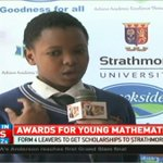 Form 4 leavers to get scholarships to Strathmore university