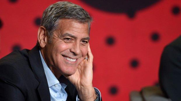 George Clooney on hurricane Harvey: 'Houston is Syria'