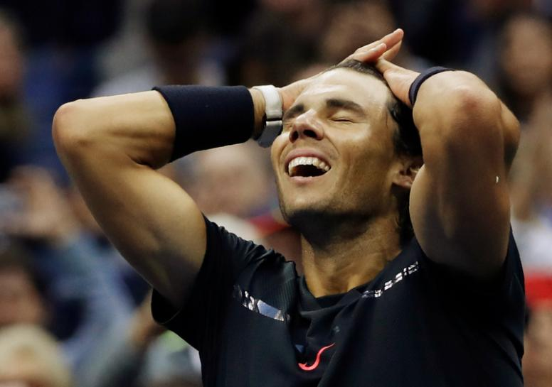 Business-like Nadal banks third U.S. Open title