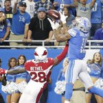 Lions' Kenny Golladay more focused on mistakes than TDs in rookie debut