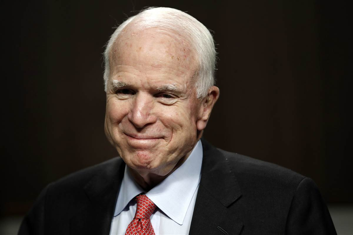 McCain says he's facing 'very vicious form of cancer'