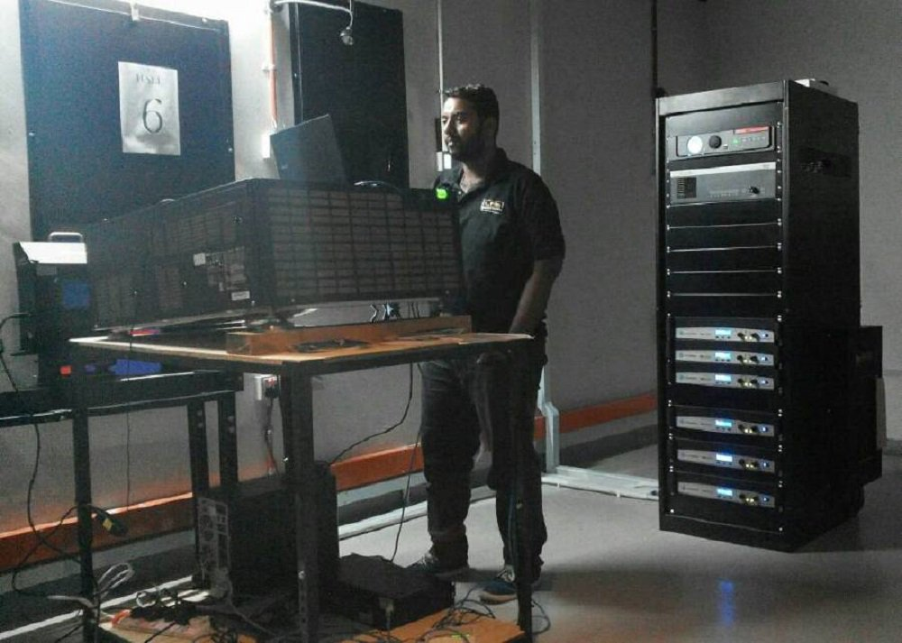 Varsity undergraduate works as part-time cinema projectionist to make ends meet