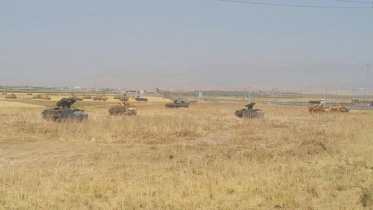Турция концентрирует войска на границе с Курдистаном. Борис Рожин. [18.09.2017]