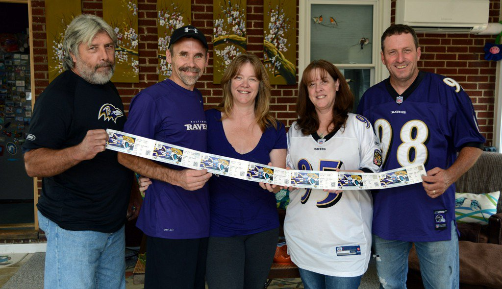 London-bound Ravens fans say they will not be deterred by terrorist attack
