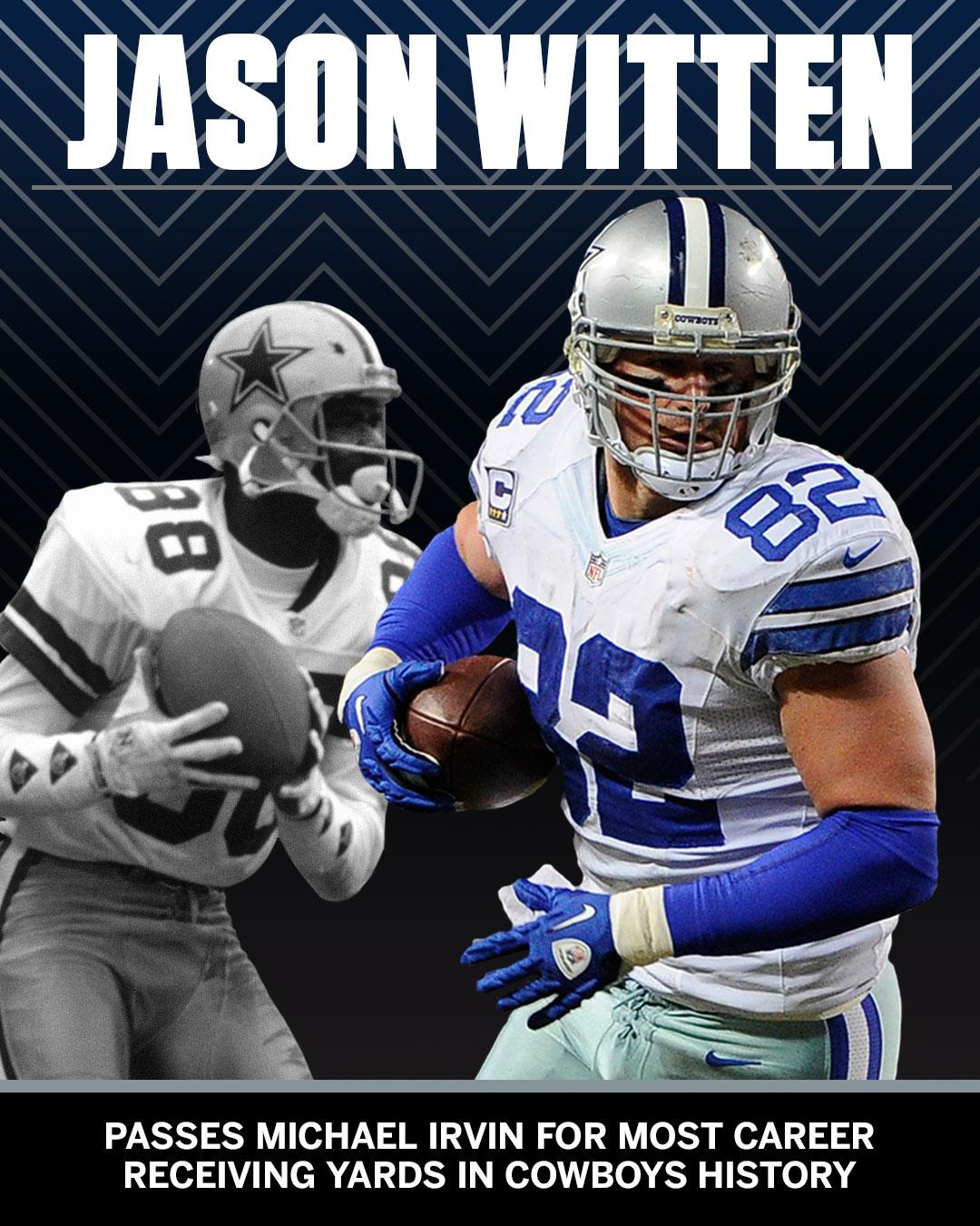 Another record for Jason Witten. https://t.co/hlP8TXCF4u