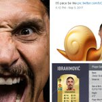 Manchester United star Zlatan Ibrahimovic will not be happy with his FIFA 18 rating