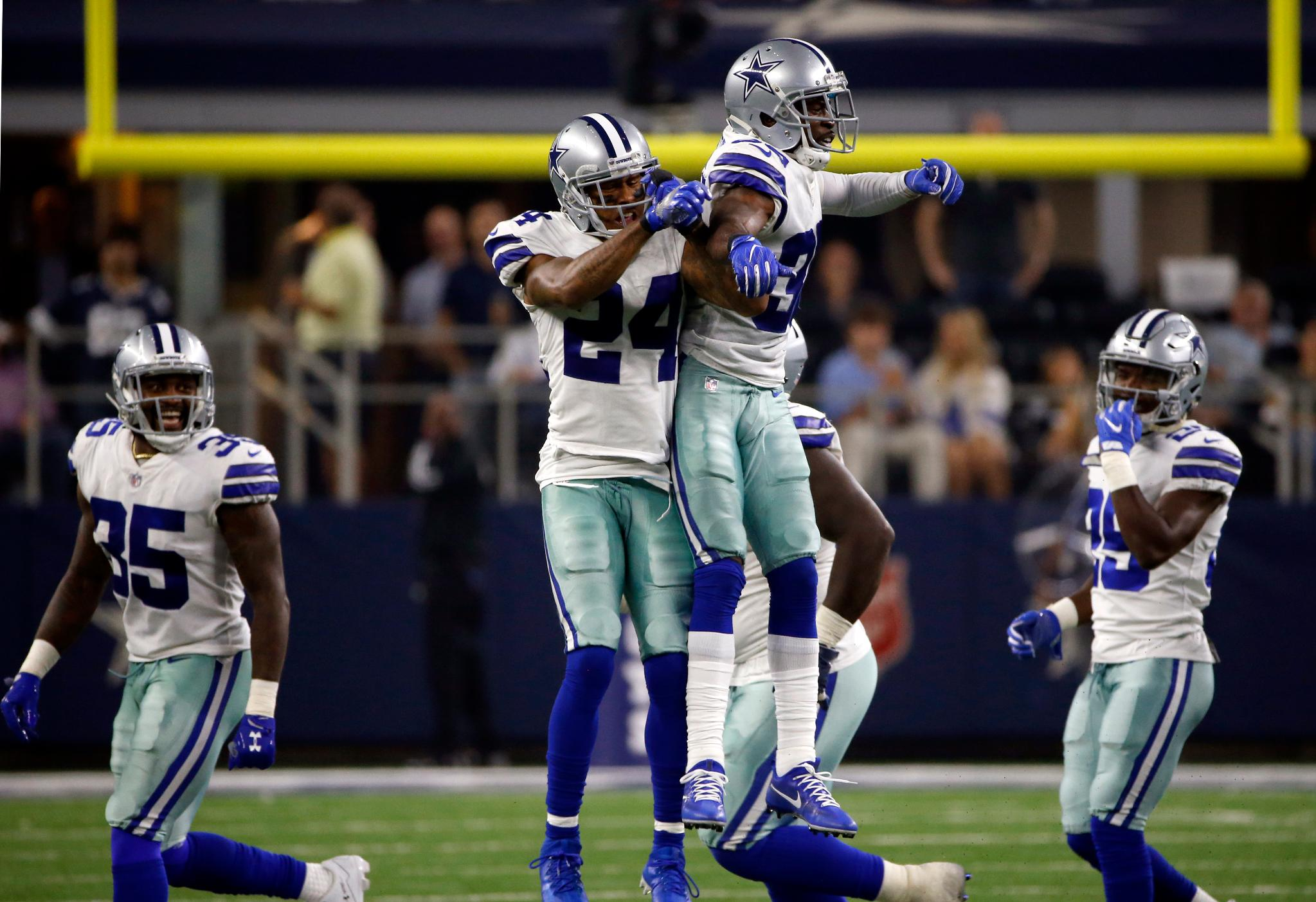 Watch the highlights from the Cowboys week 1 win over the Giants. #NYGvsDAL  ��: https://t.co/BEYpAMMhLO https://t.co/BCgZ71jcQV