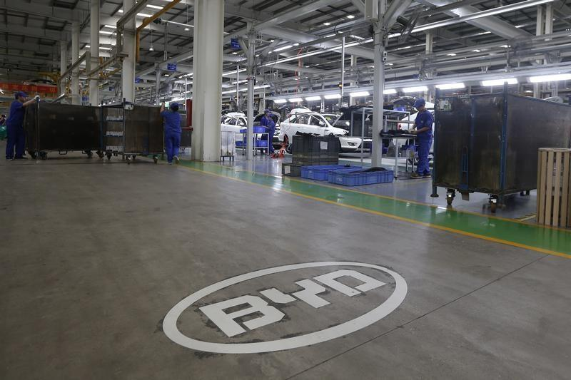 Chinese EV shares surge as government mulls petrol car ban