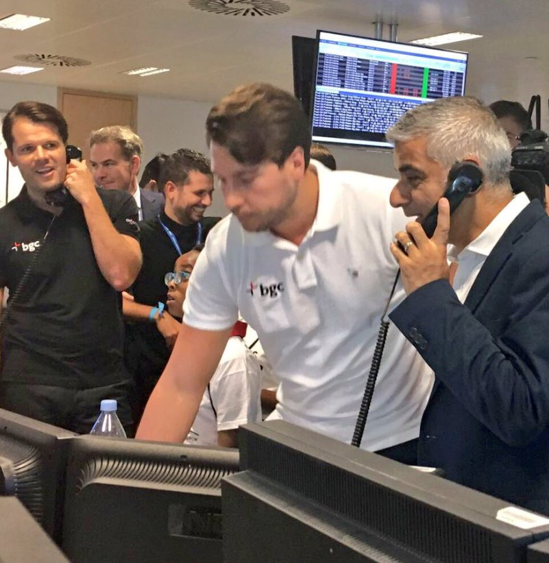 It's great to be back on the phones with @BGCCharityDay raising money for charitable causes #BGCCharityDay https://t.co/8Y8674lBXP