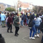 Stun grenades fired at CPUT students after classrooms set alight