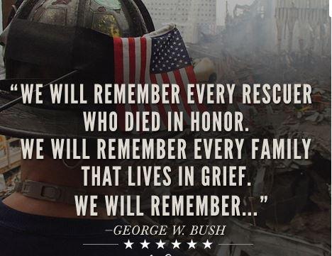 RT @SandraTXAS: September 11, 2001 We Will Remember  #September11 #terror #MAGA https://t.co/92C8GP7vDL