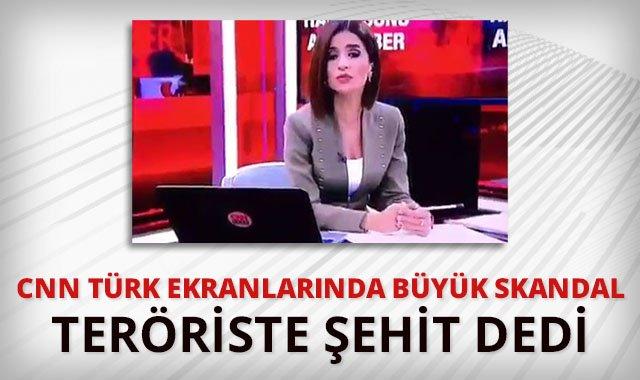 RT @tgrthabertv: CNN Türk ekranlarında büyük skandal: Teröriste şehit dedi.  https://t.co/RBeHgNpQ8O  #İhanetMedyası https://t.co/KwGnb33jNF