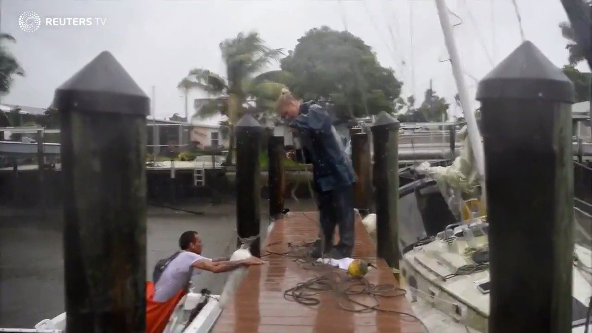 On Hurricane Bay, a Florida fisherman tries to ride out Irma. Read more on the story:
