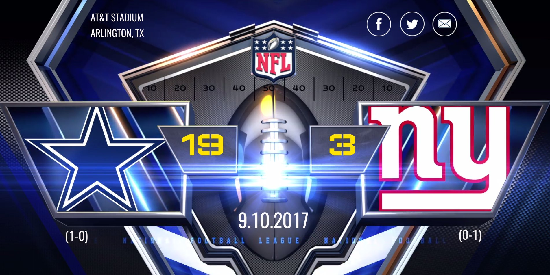 Take a look back at all of the contributing assets to the Cowboys win over the Giants.   ��: https://t.co/oXGsAe1qFJ https://t.co/VmWjpKW3Rp