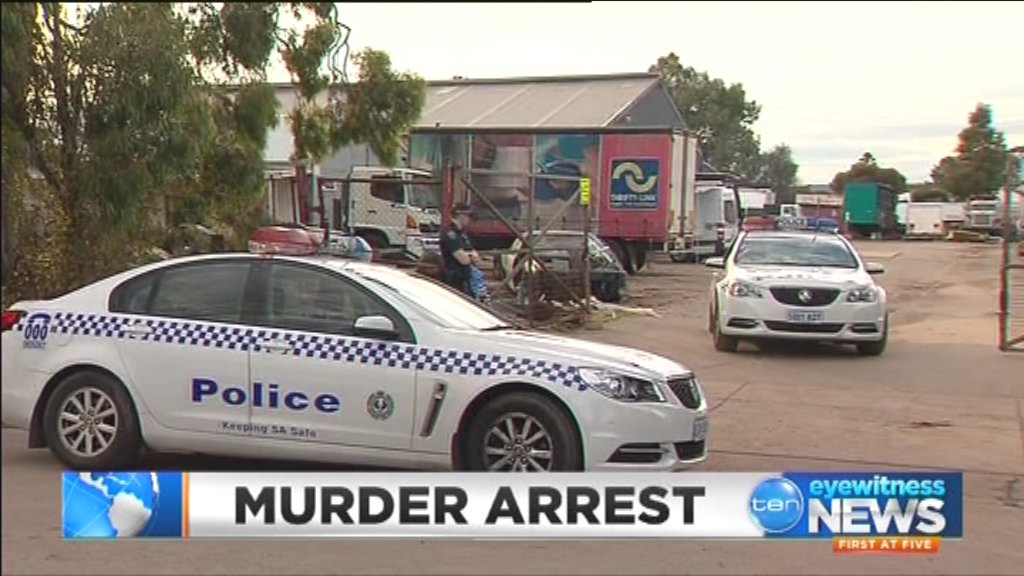 Watch: a kadina man arrested over the murder of hells angel bikie