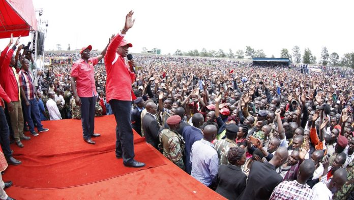 Kericho leaders marshal grassroots support for UhuRuto