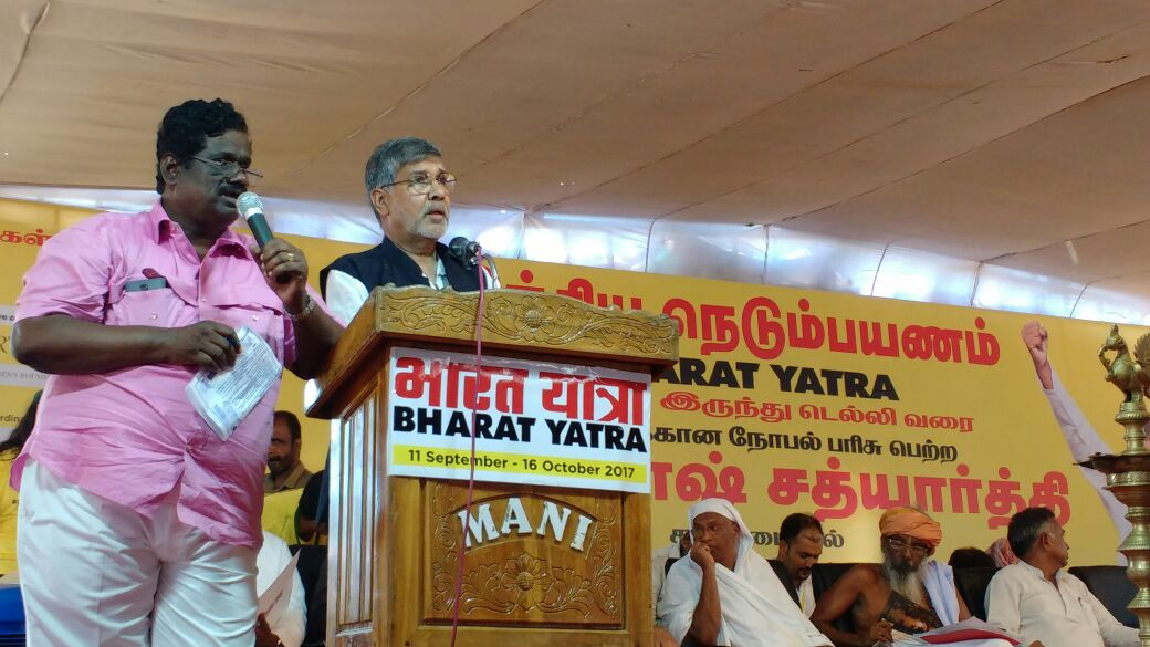 Supporting @k_satyarthi's Bharat Yatra For The Safety Of Children! #LetsMarch https://t.co/hSVXnrJhnI