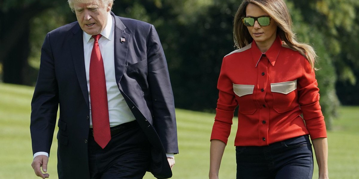 Trump, first lady prepare to commemorate Sept. 11