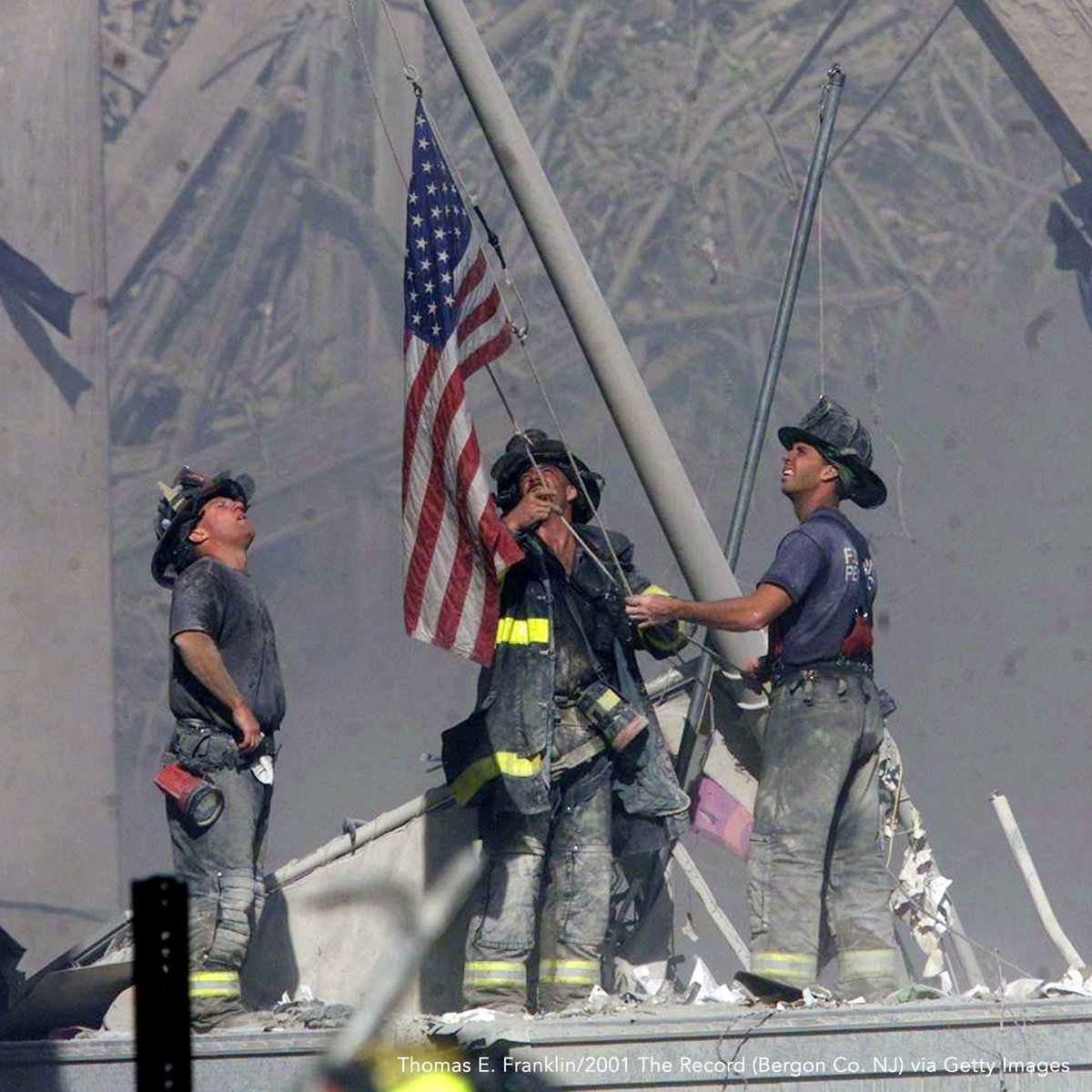 We remember, and never forget, those lost and those who helped us recover from September 11th. #NeverForget ���� https://t.co/ByCPi1unQI