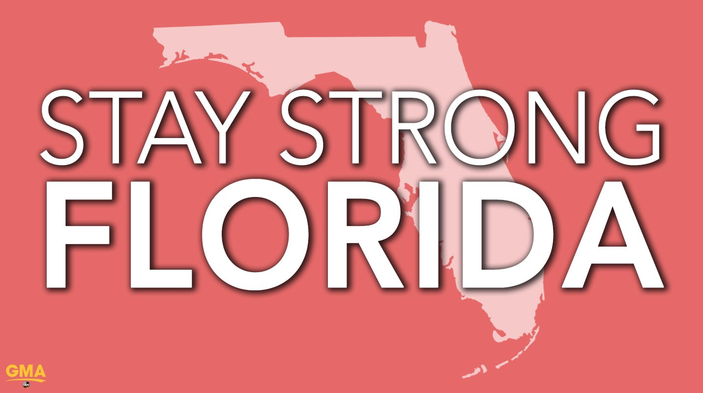 To everyone in Florida affected by #Irma: stay strong. https://t.co/jJjWiTeFt7