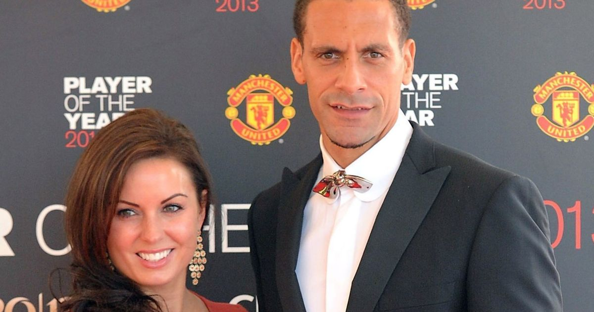 """Former Manchester United star Rio Ferdinand reveals """"world collapsed"""" after tragic loss of wife Rebecca"""