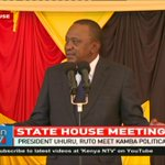 With our numbers we can even change the constitution - President Uhuru Kenyatta
