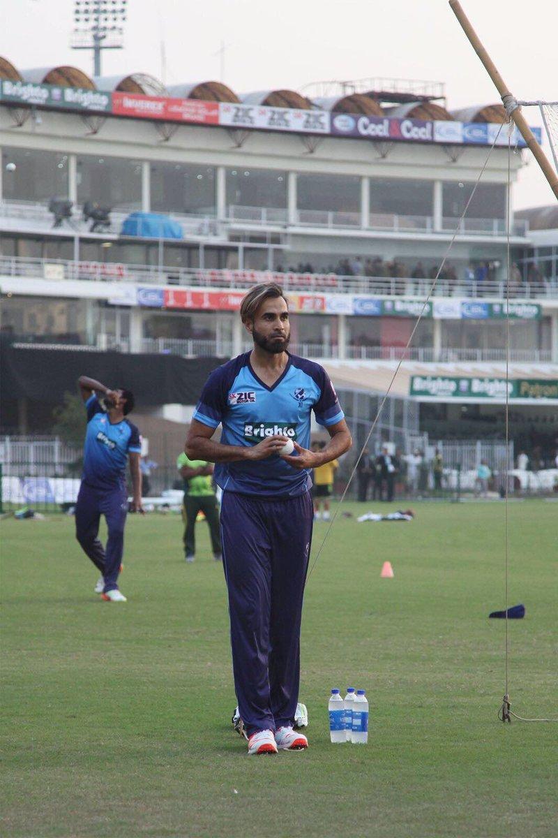 RT @ImranTahirSA: So excited to be back in Pakistan. Ready to go.  #PAKvWXI #CricketKiHalalala https://t.co/Kbkkuc9jl7